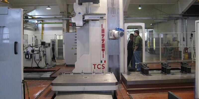 LAZZATI Linea Floor-Type Ram Milling HB 2M