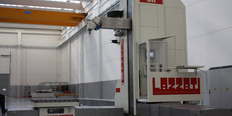 LAZZATI Linea Floor-Type Ram Milling HB 2RR