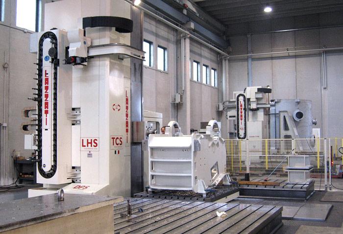 LAZZATI Linea Floor-Type Horizontal Boring Mills