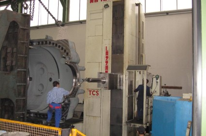 LAZZATI Boring Mill in Energy Sector (49)