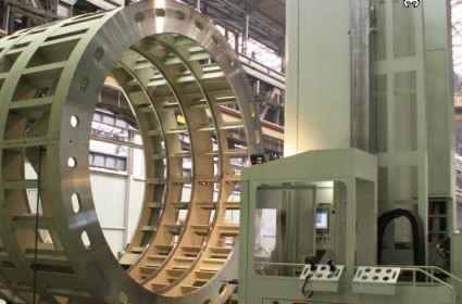 LAZZATI Boring Mill in Energy Sector