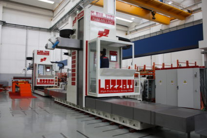 LAZZATI HB 2M Linea Floor-Type Ram Milling
