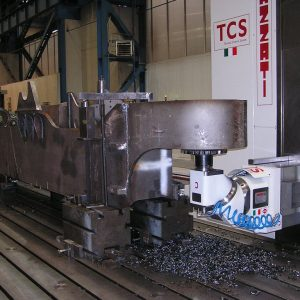 LAZZATI Boring Mills in Earth Moving Sector